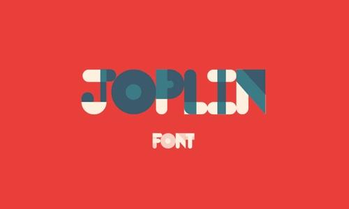 Free Fonts Joplin web design