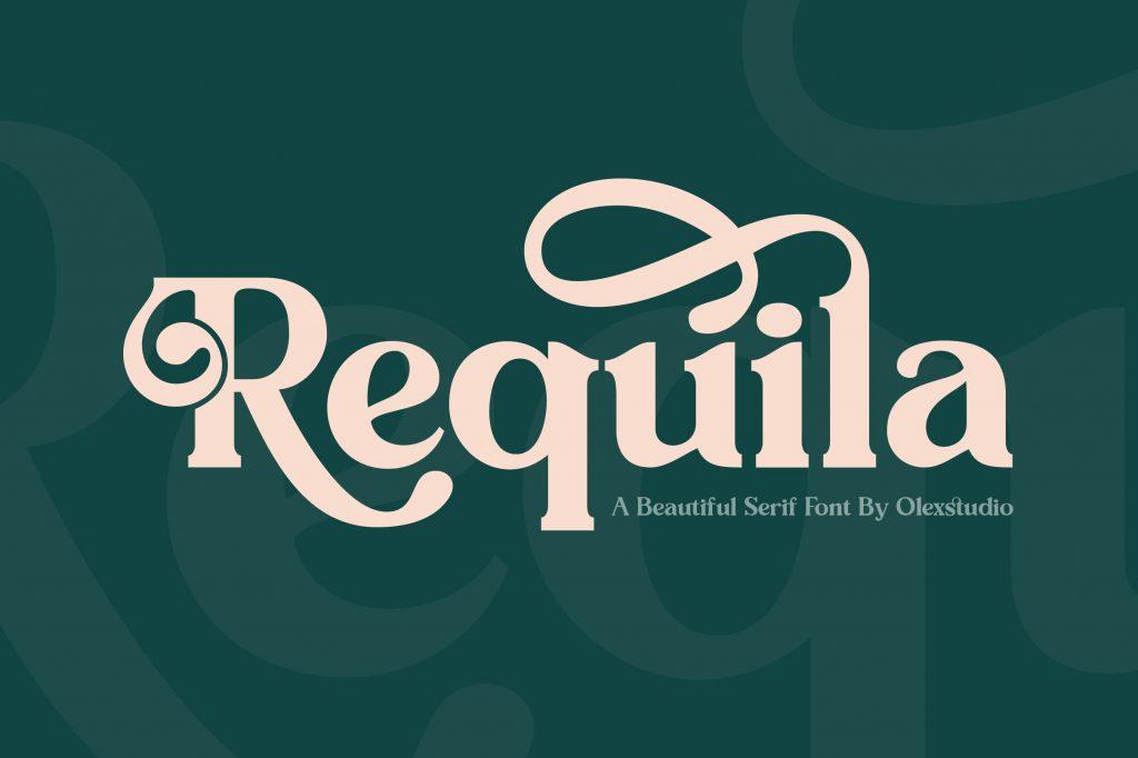 Requila-Fonts