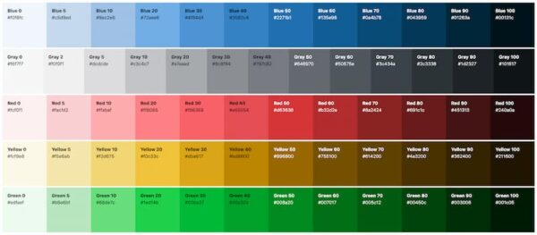 worpdress color palette